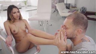 Baby Nicols Venezolana Hermosa en Casting con Nacho